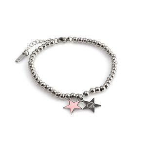 ZUUZ beads bracelet for women stainless steel Star braceletJewelry accessories charm chainsimple fashion bracelet gold friendshi