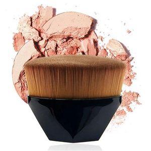 Горячие продажи № 55 Волшебное Foundation Brush Алмазная кисти для макияжа Профессия Polygon Контур Blending Кисти микрофибры Пластиковые ручки