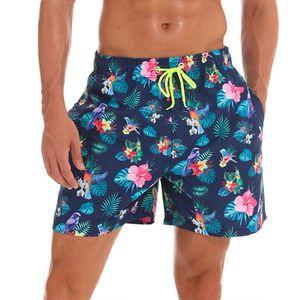 Pantalones cortos de playa para hombre Pantalones cortos sueltos de secado rápido Bañadas de surf Traje de baño Pantalones cortos de natación Impresión de moda de verano Bañadores de playa Bañador M-XXXL
