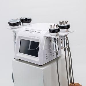 5-1 Ultraschallfettabsaugung 40k Cavitation Fat Burning Biopolar RF Gesichtspflege Vakuum Körper schlank Maschine Spa