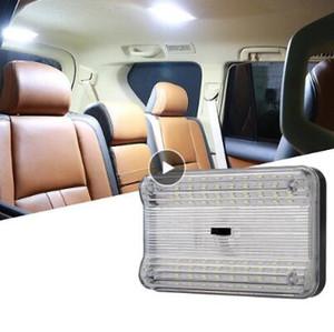 12V 36 LED Vehicle Car Light Interior Dome Telhado Teto Reading Trunk Car Light Lamp alta qualidade Bulb Car Styling Luz Noite
