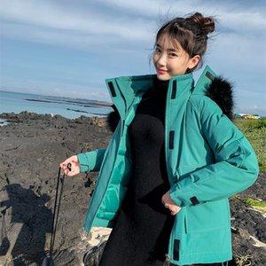Women Outerwear Women Sweet Designer Coat Winter Thick Warm Plue Size Fur Coat Casual Ladies Long Sleeve Solid Color Parka
