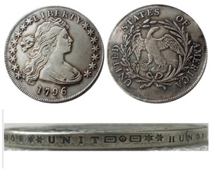 US 1796 Draped Bust Dollar Small Eagle Silver Plated Copy Coins metal craft dies manufacturing factory Price