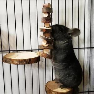 الحيوانات الأليفة مضغ لعبة التفاح الأسنان الخشبية طحن اللعب لالهامستر Chinchilla أسنان الحيوانات الصغيرة مضغ ألعاب القفص الإكسسوارات