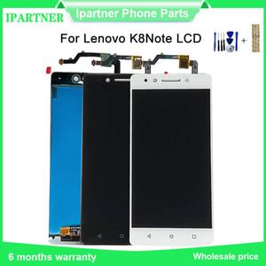 5,5 pouces pour Lenovo K8 Remarque LCD et tactile Digitizer Panneau écran Assemblée note Lenovo K8 Tools