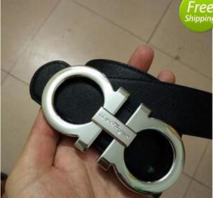 جديد فاخر مصمم الرجال حزام الأزياء نمط هندسي مشبك المرأة حزام رجل إمرأة حزام ceinture f اختياري السمة
