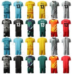 Portero GK 2020 Portero Fútbol 13 Jan Oblak Jersey Set 1 Miguel Angel Moya 1 Antonio Adan Color Football Camiseta Kits Uniforme MJ