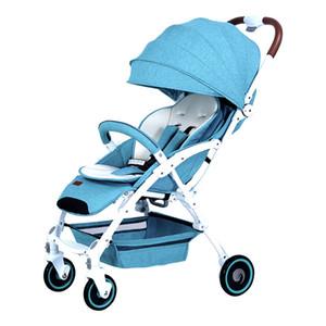 832 Baby Stroller Children Trolley Babies' Folding Stroller Shock Absorbers Fast Folding Full Bottle Headband Mosquito Net