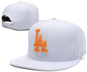 New Colors LA Letter Designers Snapbacks Hip hop Adjustable Mens Snapback Hats Real Photos Leisure Women Baseball Caps Cotton bone Casquette