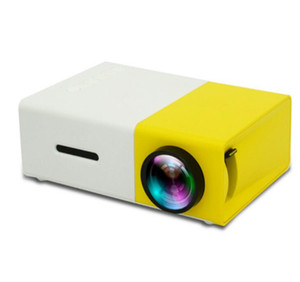 YG300 LED Portable Projector 400-600LM 3.5mm Audio 320 x 240 Pixels YG-300 HDMI USB Mini Projector Home Media Player New arrive