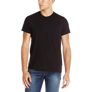 Camisetas para hombre de alta calidad de impresión de la letra T-Verano básicos verdadera camiseta ropa casual de color rojo sólido blanco negro azul RELIGIONING camisetas 100% algodón