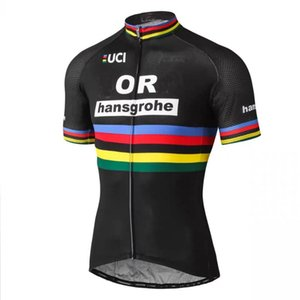 2020 Men Breathable Cycling Jersey Tops Summer Cycling Clothing Ropa Ciclismo Short Sleeve Bike Jerseys