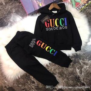 2019 erkek çocuklar kapüşonlu elbise 3 renk BOFE boyutları hoodle ceket erkek spor kazak iyi yeni sonbahar çocuk gömlek satıyor 2-9 yıl Çocuklar Bebek Setleri