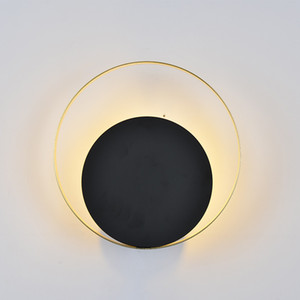 Lampada da parete comodino moderna minimalista della camera da letto della navata laterale del salone della personalità creativa chiara nordica della parete Trasporto libero
