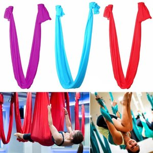 1Pcs 2.8m *1m Aerial Yoga Hammock Swing Latest Multifunction Strength Decompression Hammock Sling Strap Yoga Gym Hanging