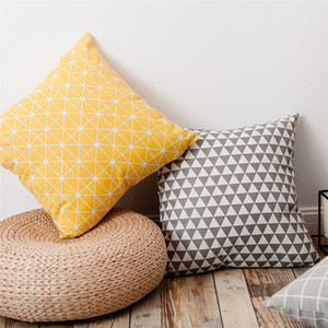 Tasarımcı yastıklar Yastık Blank Yastık Keten Isı Transferi Baskı Kapaklar Polyester Beyaz Yastık Yastık Kapaklar