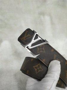 Cinturones de diseño de alta calidad para hombres L Cinturón con hebilla Cinturones Cummerbund Para hombres Mujeres Hebilla de metal B51
