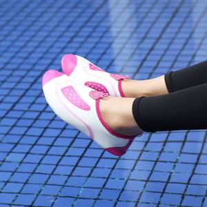 Горячие Продажа-Многофункциональный Фитнес мужчин Спортивная обувь Кроссовки Уютные Перекрестные спортивной тренировки женщин плавательным Shoes-Бич
