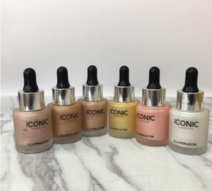 Dropshipping En Stock !!! ICONIC LONDON ILLUMINATOR líquido resaltado 6 colores brillo brillo original Moon Beam 24K Gold lrie Rose