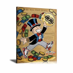 Alec Monopoly Slam Dunk Success,HD Canvas Printing New Home Decoration Art Painting (Unframed Framed)