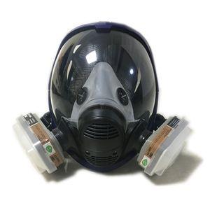 nes atyle 2 in 1 Funktion 6800 Atemschutzmaske Silikon-Vollgesichtsgasmaske Maskenkörper Sprühen Malerei