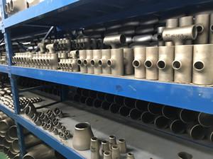 Titan ASTM B363 Forged Muffenschweiß Barred Reduzierung Tee Abmessungen Titan-T-Titan Minderer heißen Verkaufs
