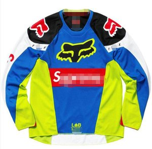 FOX tide brand off-road shirt T-shirt motorcycle clothing long sleeve quick-drying clothing mountain bike downhill riding clothing