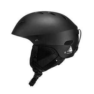 Casque de ski de sports de neige de patinage en plein air de protection réglable Vector