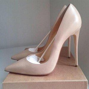 Venta caliente-Nuevo estilo para mujer Zapatos de tacones altos Lentejuelas plateadas Dedos en punta Bombas Hebilla Zapatos de vestir Zapatos de boda de fiesta Zapatos de vestir
