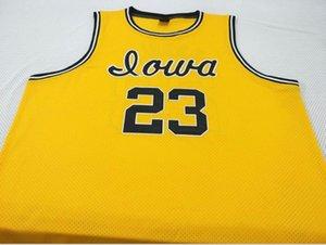 Benutzerdefinierte Männer Jugend Frauen # 23 Roy Marble Iowa Hawkeyes College Basketball-Jersey-Größe S-6XL oder benutzerdefinierten beliebigen Namen oder Nummer Jersey