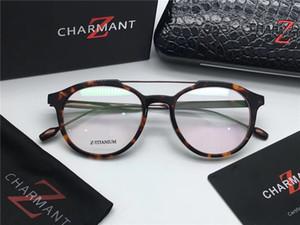 new fashion Brand-designer charment 19916 Titanium occhiali retro montatura occhiali da vista retro occhiali ottici occhiali da vista