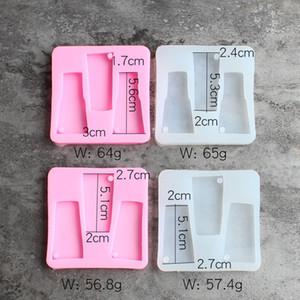 2020 nuovo portachiavi stampo Tumbler silicone stampi in resina silicone modella Acqua Perfect Partner di Coppa Turner