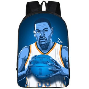 Kevin Durant backpack MVP star daypack Super player schoolbag Basketball print rucksack Sport school bag Outdoor day pack