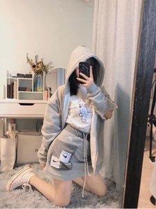 Donne di modo Vestito corto di marca 2020 del nuovo progettista di arrivo delle donne L0g0 Gonne estate di lusso i vestiti da superiore S-L YF20431