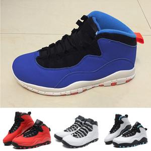 2018 Männer 10 Schuhe Fashion Sportschuhe X schwarz grau rot Schuhe Basketball-Turnschuhe Größe 41-47