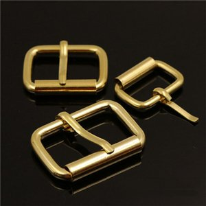 solid brass material leather craft bag backpack belt pin buckle 20pcs lot wholesale
