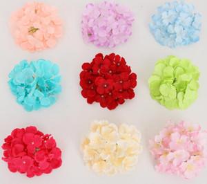 """كوبية رئيس 50 قطعة 6 """"ينبع مع كوبية تزيين لزهرة جدار الزهور وهمية DIY ديكور المنزل GB816"""
