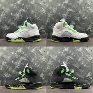 Special Edition 5 Quai 54 Basketball Designer Chaussures Blanc Radiant Vert Noir Argent métallisé Mode Q54 Sport Chaussures de sport de bonne qualité