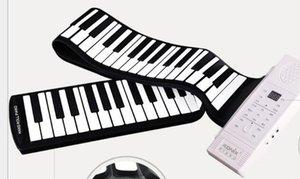 Mano Roll pianoforte 88 tasti della tastiera portatile pieghevole portatile
