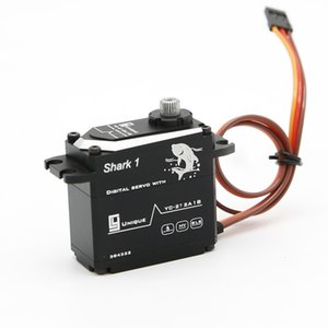 CY Servos Shark1 42Kg.cm 0.120s Digital Brushless Waterproof SS Gears Al Case High precison servos Gear unit virtual position angle 0.2