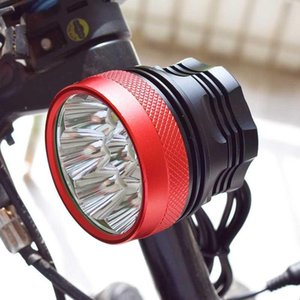 8 * XML T6 LED Bicycle Light Bike Front Lamp Headlight 3 Modes Cycling MTB Accessories