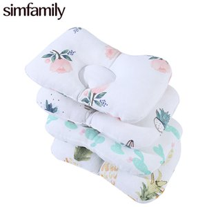 [Simfamily] Cute Baby Concave Pillow Room Bedding Decor Infant Baby Boys Girls Sleeping Cushion Neck Support Pillows Kids Gifts