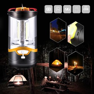 Super Bright Tent Lamp Portable Lantern Camping Lights USB Charging Hiking Dual Power 1000LM Multi-Function 10W 3 Modes