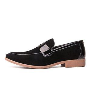 2020 Новая Внешняя Торговля Мужская Повседневная Обувь Мода Большой Размер Остроконечные Туфли Британский Тренд Корейский Стиль Прохладный Мужской Износостойкий Новый Кросс-Борд
