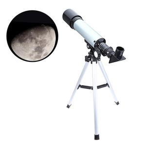 F36050M all'aperto monoculare dello spazio astronomico telecamere telescopio con treppiedi portatile Cannocchiale 360 / 50mm telescopico telescopio