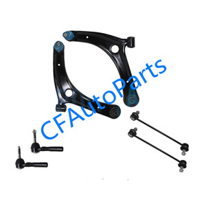 Brand New 2007 - 2014 for Dodge Caliber Front Lower Control Arm Outer Tierod Sway Bar Kit