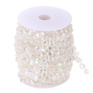 99FT 30 м акриловый бриллиант занавес из бисера поделки гирлянда свадьба украшение кристалл свадебные аксессуары домашний занавес украшения