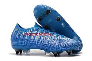2019 news mens Superfly 7 Elite SE FG soccer cleats CR7 neymar football boots Bottom steel nail Mercurial Vapors 13 Elite FGus6.5-11