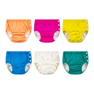 Children's learning washable pocket urine baby learning trunks swimming pool baby's diapers swimming trunks