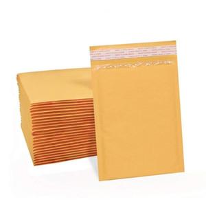 21sizes 10pcs à prova de choque postal Kraft bolha envelope, acolchoado de espuma liner mailer, mailer Kraft
